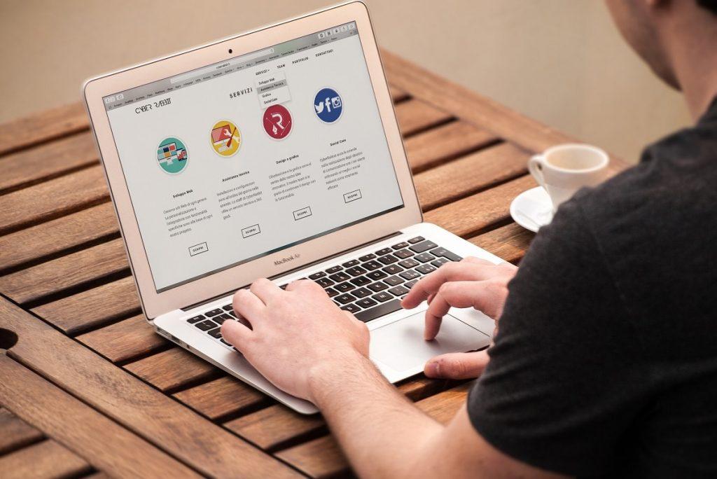desenvolvimento de sites para internet